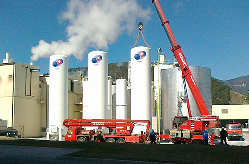 CO2-Storage Tanks